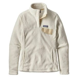 Patagonia Re-Tool Snap-T Pullover Raw Linen/White